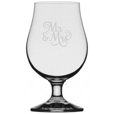 Iona Beer Glass Wedding Party Samantha Font