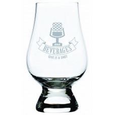 About Beverages Engraved Glencairn Glass