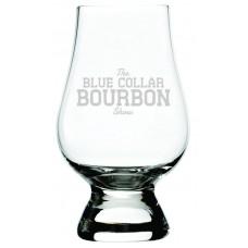 The Blue Collar Bourbon Show Glencairn Whisky Glass