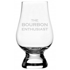 Bourbon Enthusiast Glencairn Whisky Glass