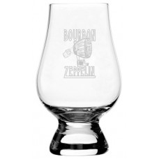 Bourbon Zeppelin Glencairn Whisky Glass