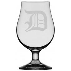 Old English Monogrammed Glencairn Crystal Iona Beer Glass