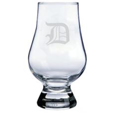 Monogrammed Old English Glencairn Whisky Glass