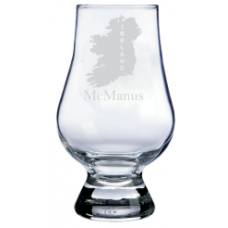 Personalized Ireland Glencairn Whisky Glass