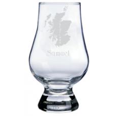 Personalized Scotland Glencairn Whisky Glass