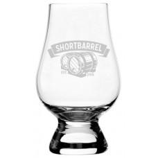 Shortbarrel (Logo) Glencairn Whisky Glass