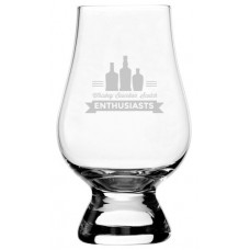 Whiskey Bourbon Scotch Enthusiasts Glencairn Whisky Glass